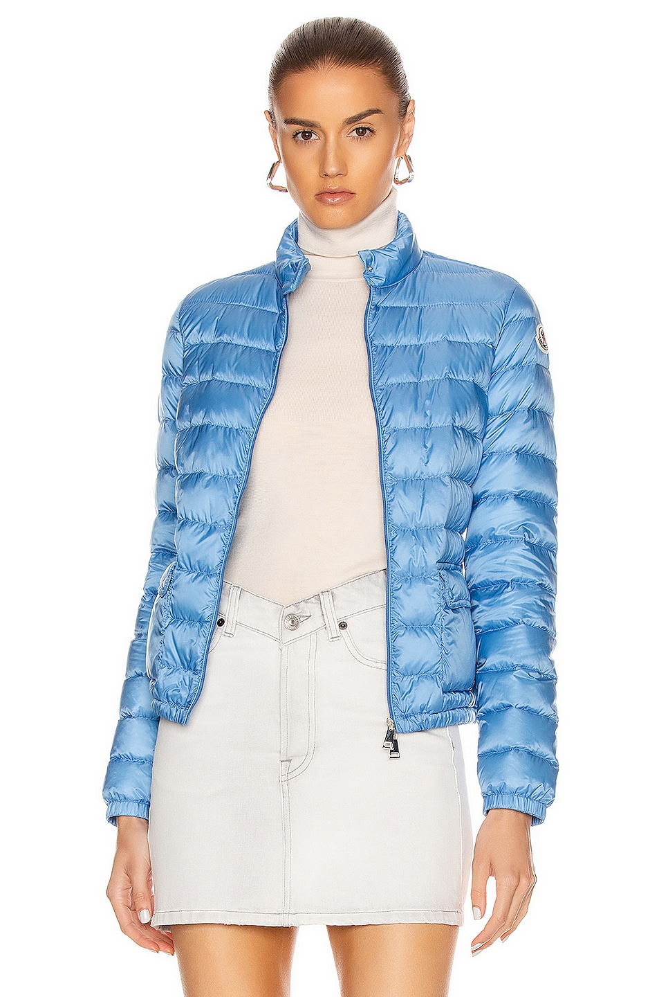 Image 1 of Moncler Lans Giubbotto Jacket in Royal Blue