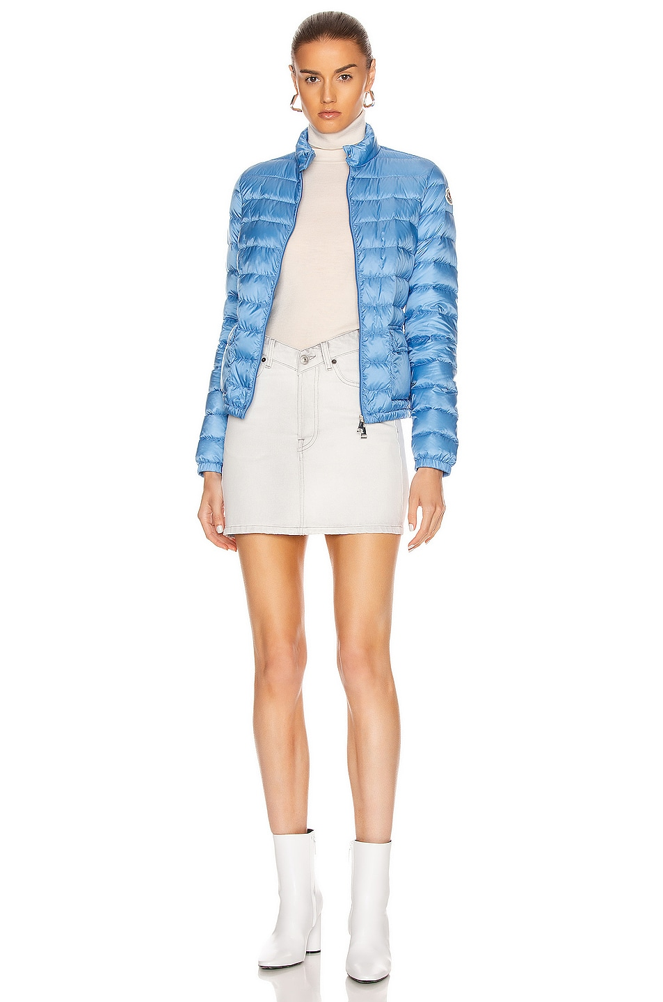 Image 6 of Moncler Lans Giubbotto Jacket in Royal Blue