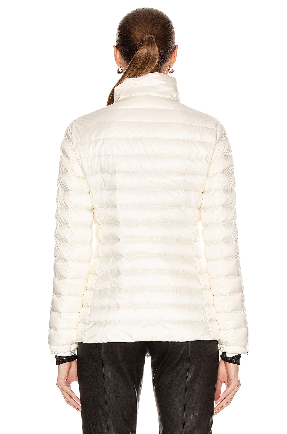 Image 5 of Moncler Safre Giubbotto Jacket in Ivory