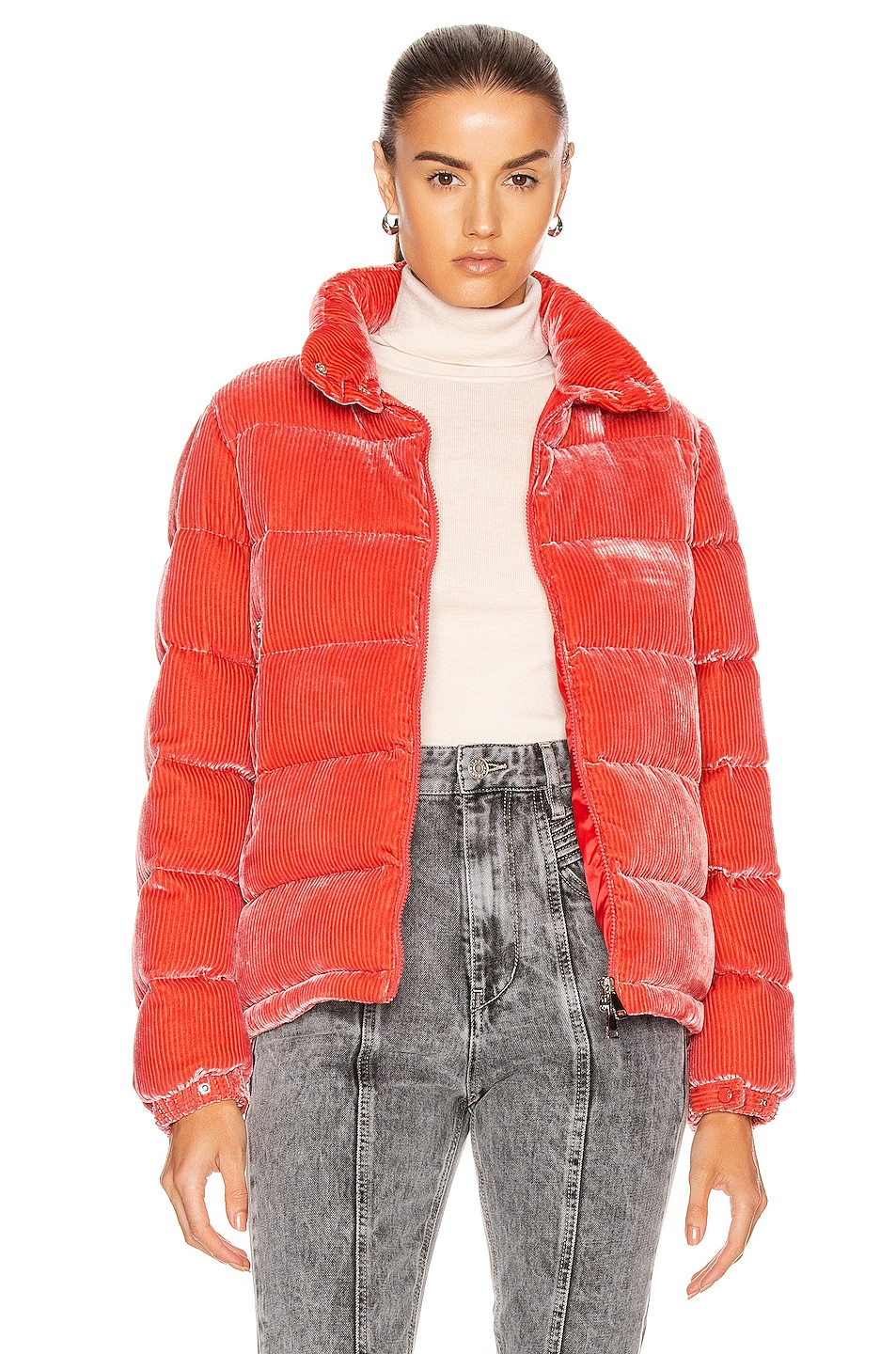 Image 1 of Moncler Copenhague Giubbotto Jacket in Pink
