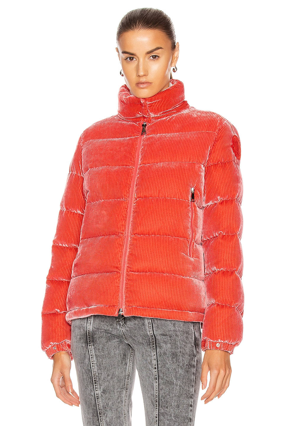 Image 2 of Moncler Copenhague Giubbotto Jacket in Pink