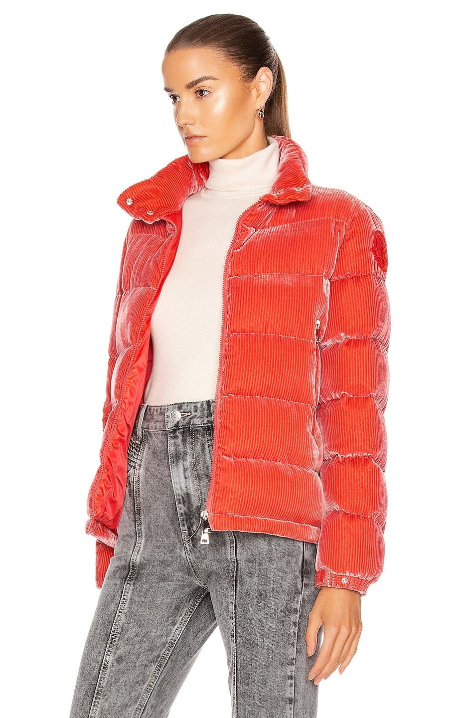 Image 4 of Moncler Copenhague Giubbotto Jacket in Pink
