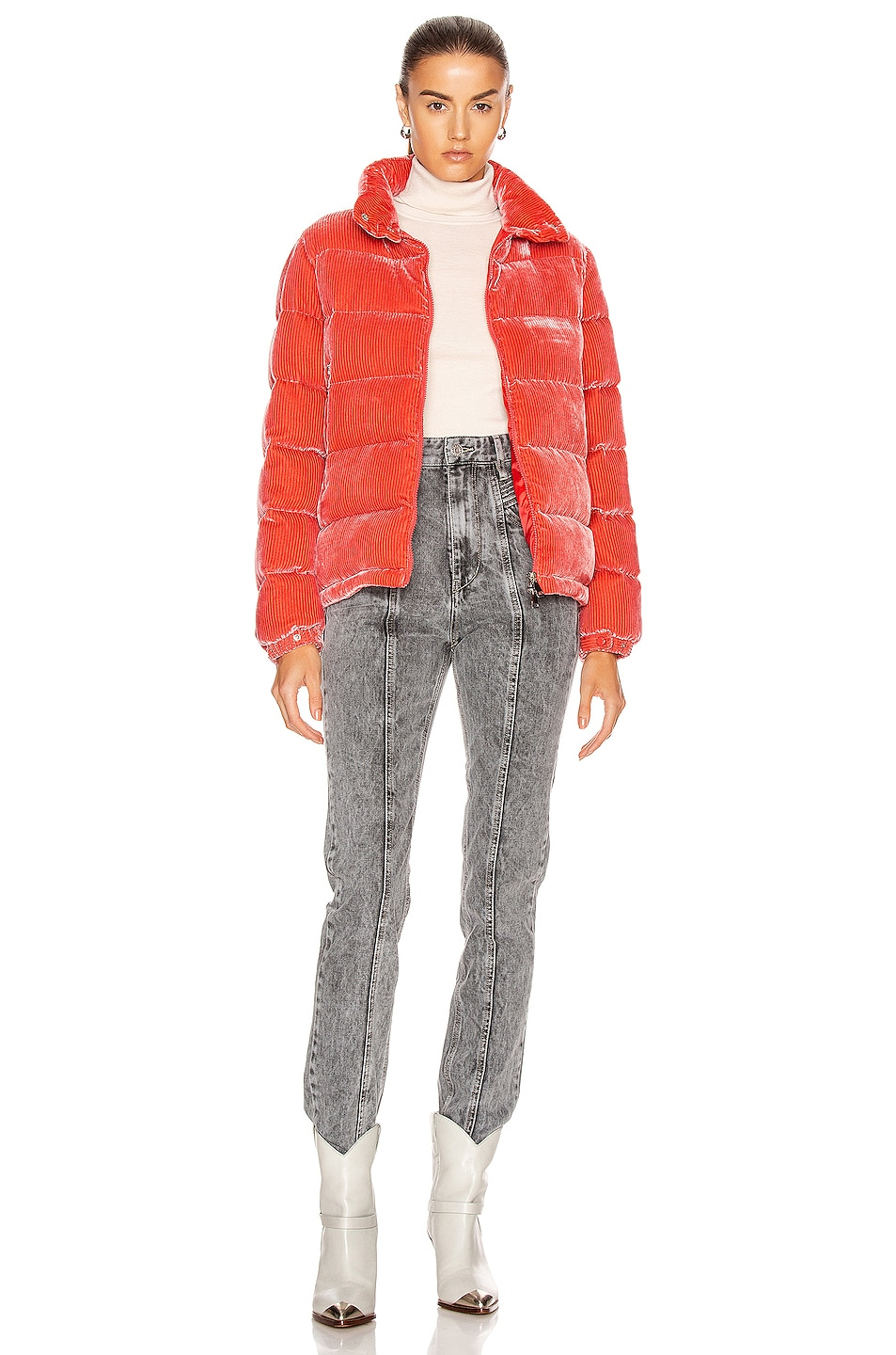 Image 6 of Moncler Copenhague Giubbotto Jacket in Pink