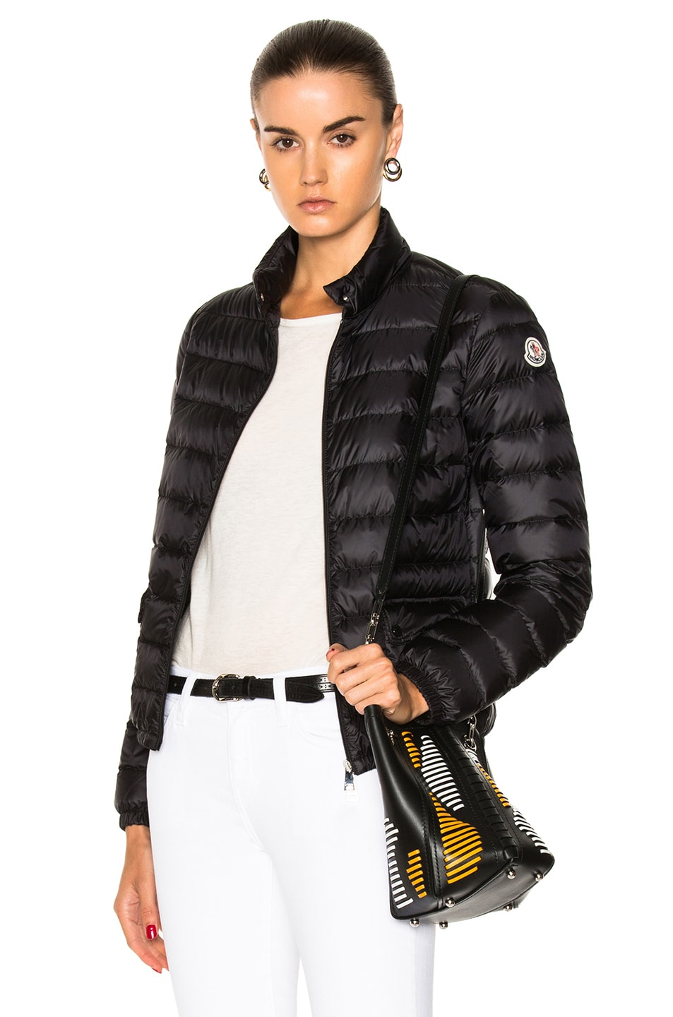 Image 1 of MONCLER Lans Polyamide Jacket in Black