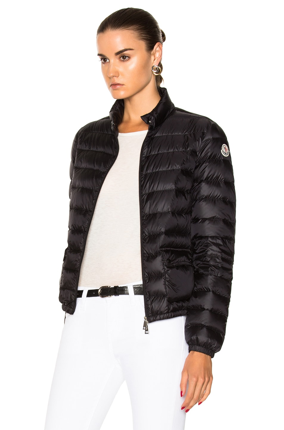Image 3 of Moncler Lans Polyamide Jacket in Black