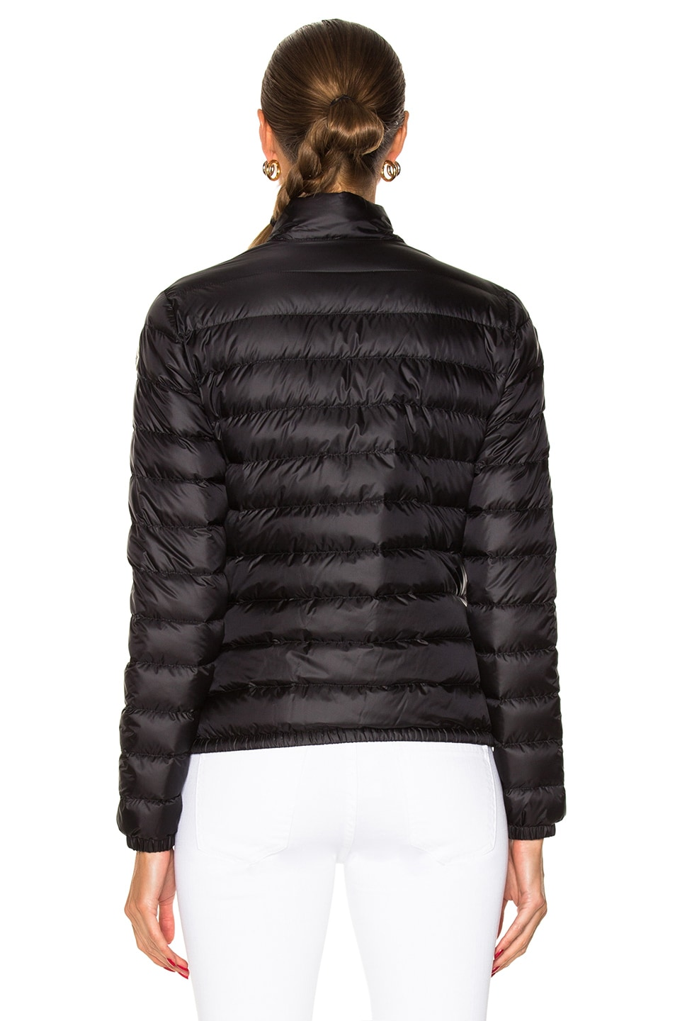 Image 5 of Moncler Lans Polyamide Jacket in Black