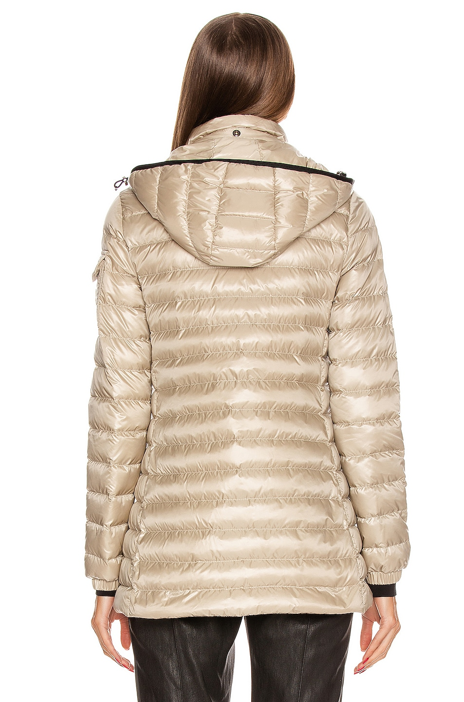 Image 5 of Moncler Menthe Giubbotto Jacket in Champagne