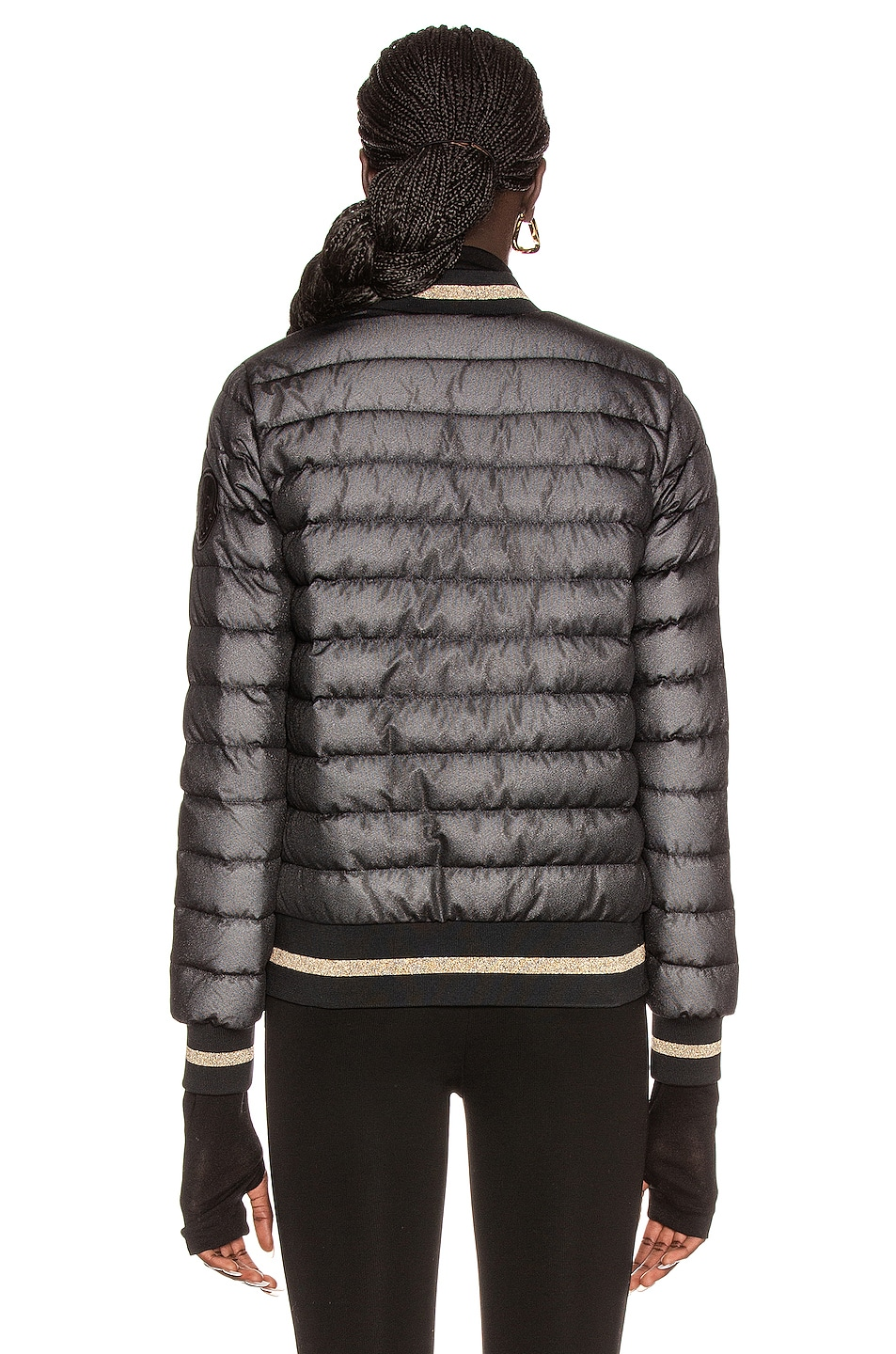 Image 4 of Moncler Or Giubbotto Jacket in Black