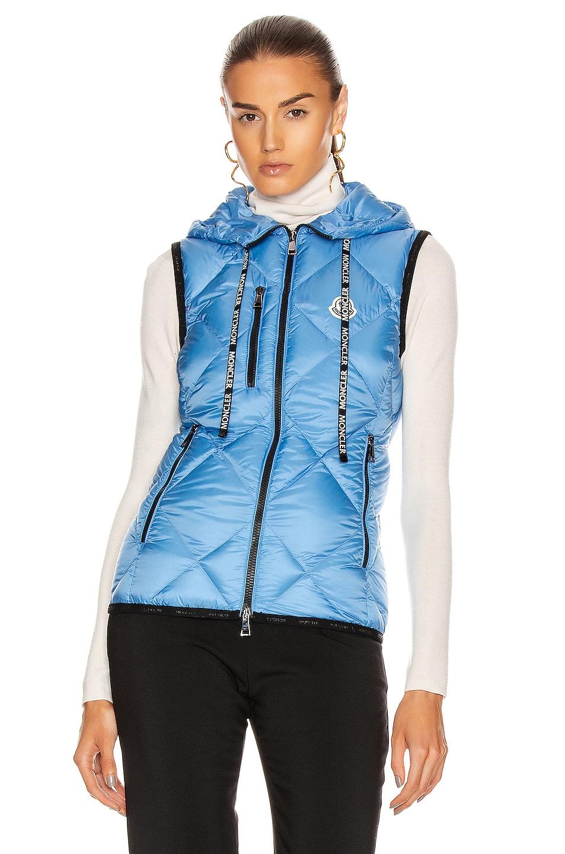Image 2 of Moncler Sucrex Gilet Vest in Blue