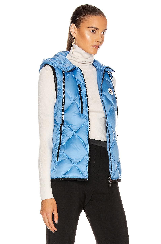 Image 3 of Moncler Sucrex Gilet Vest in Blue