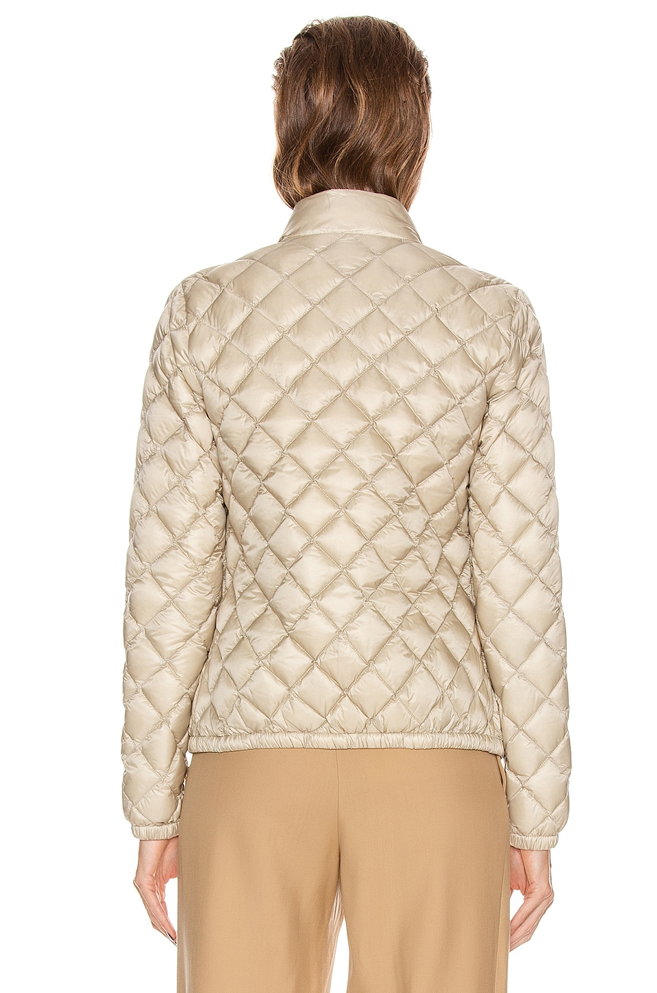 Image 5 of Moncler Lan Giubbotto Jacket in Champagne