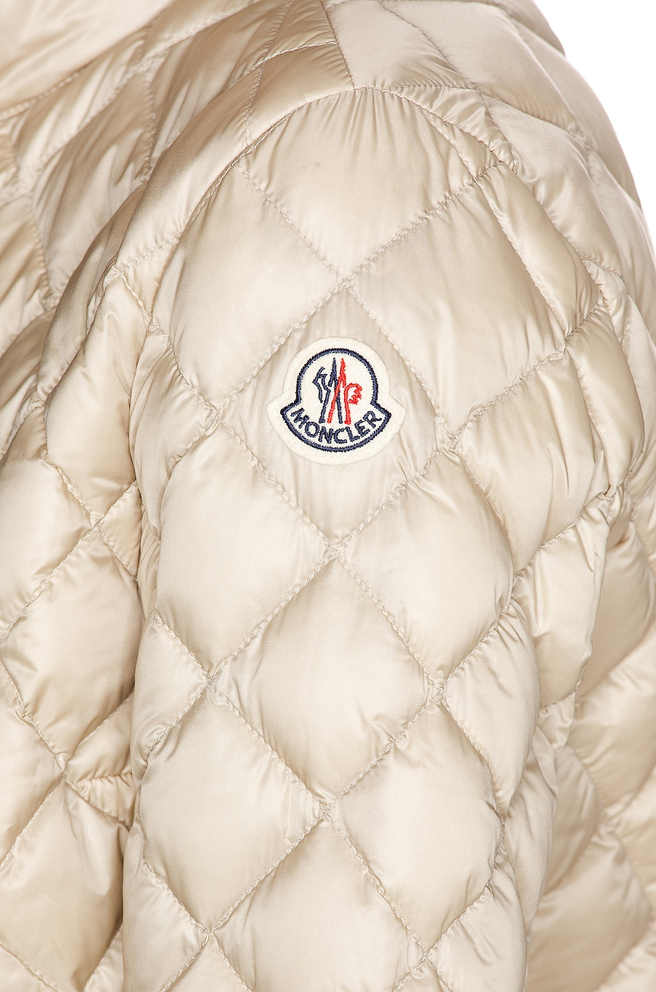Image 7 of Moncler Lan Giubbotto Jacket in Champagne