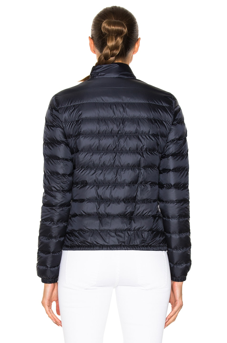 Image 5 of Moncler Lans Polyamide Jacket in Navy