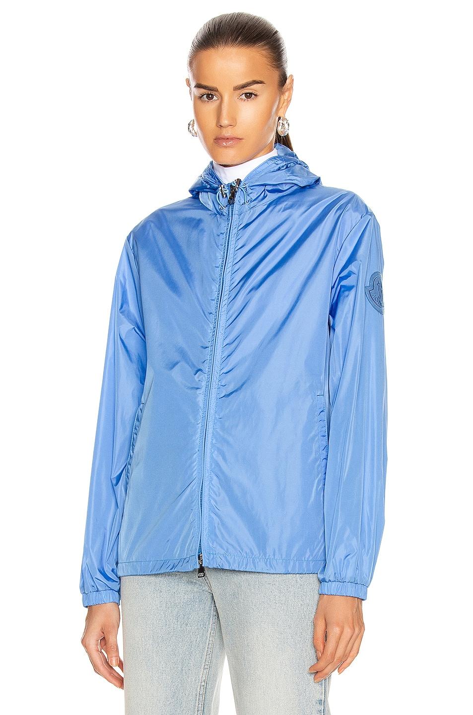 Image 2 of Moncler Alexandrite Giubbotto Jacket in Blue