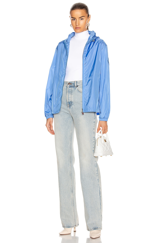 Image 6 of Moncler Alexandrite Giubbotto Jacket in Blue