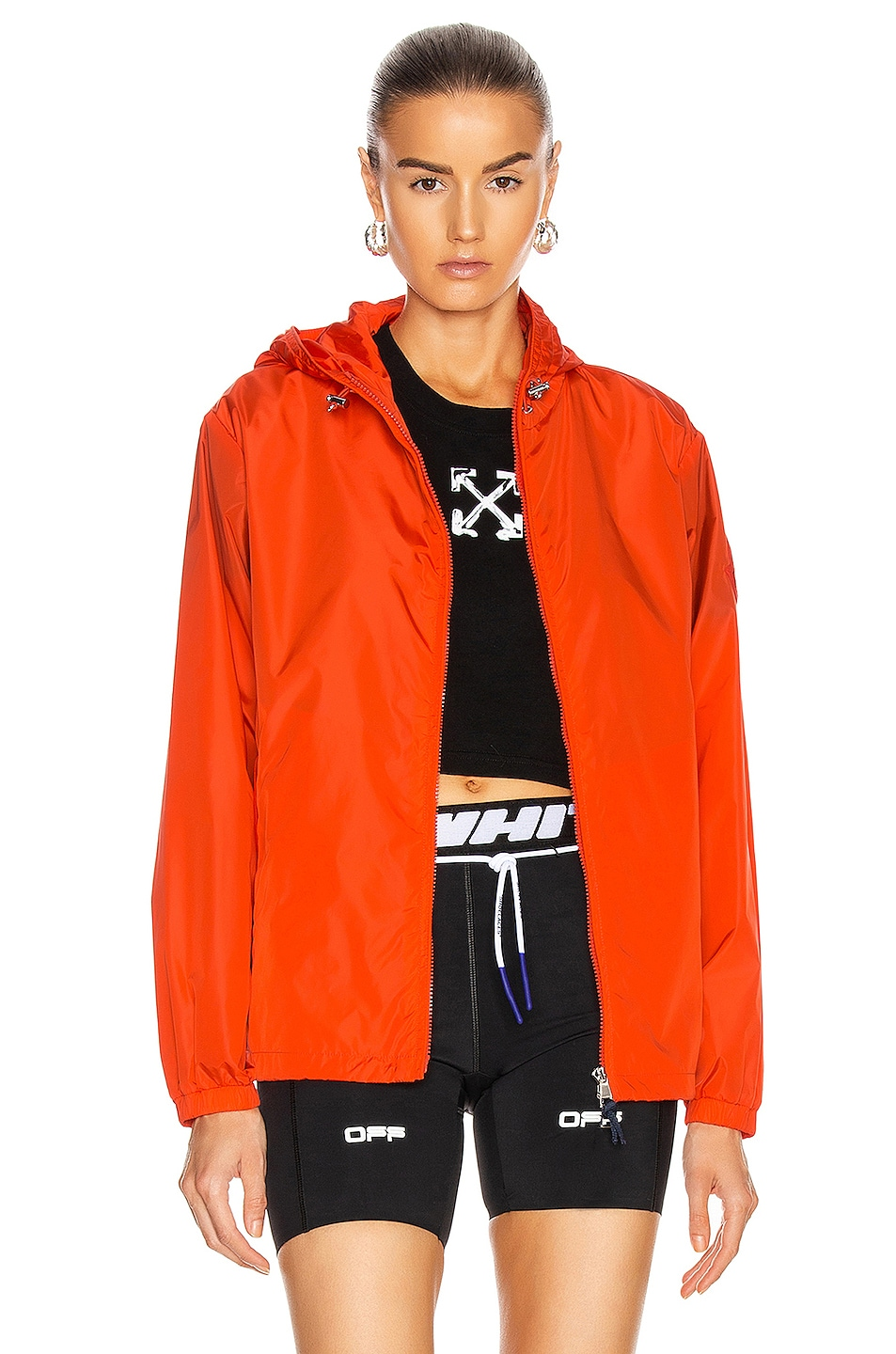 Image 1 of Moncler Alexandrite Giubbotto Jacket in Red