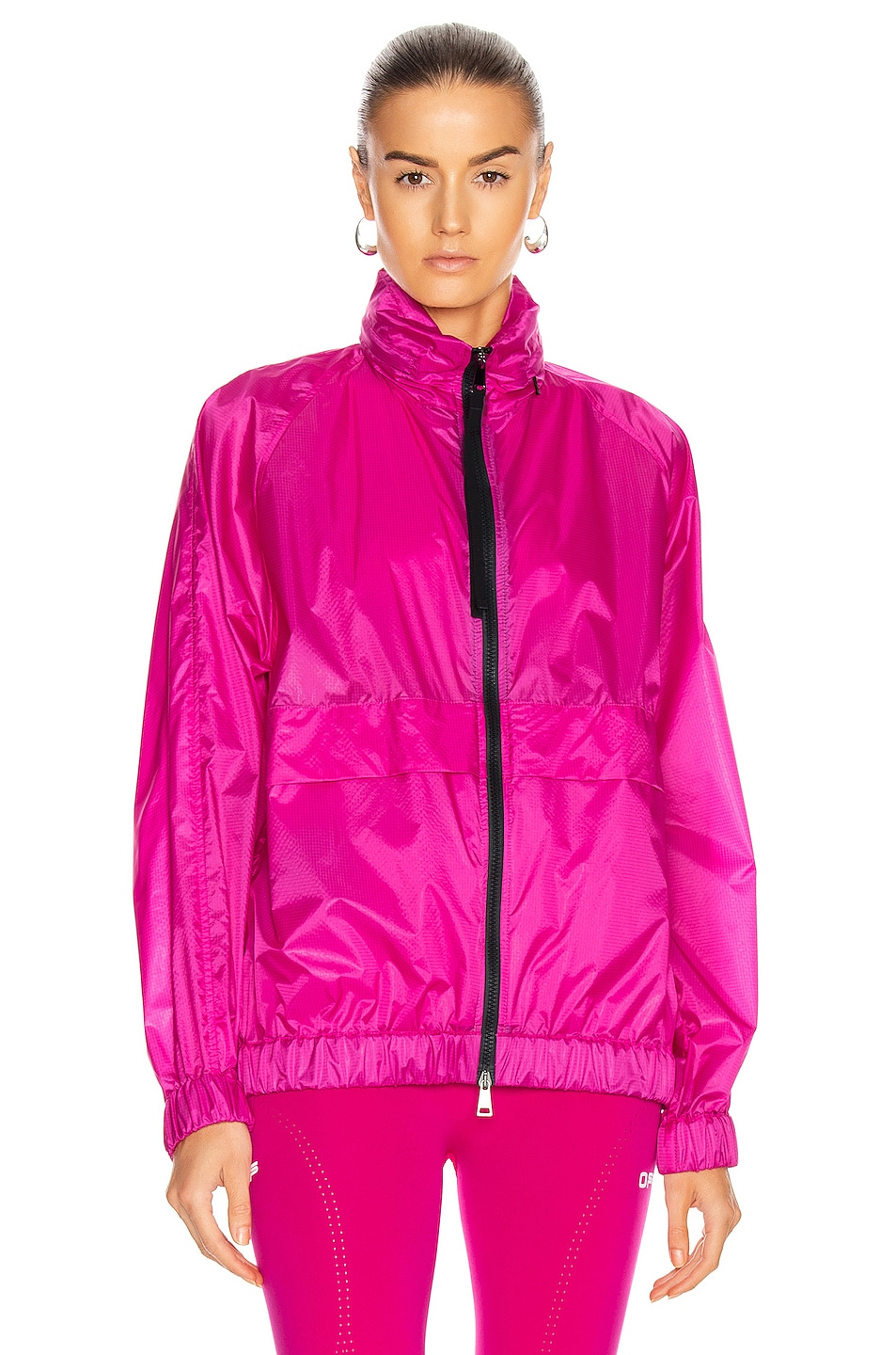 Image 2 of Moncler Groseille Giubbotto Jacket in Pink