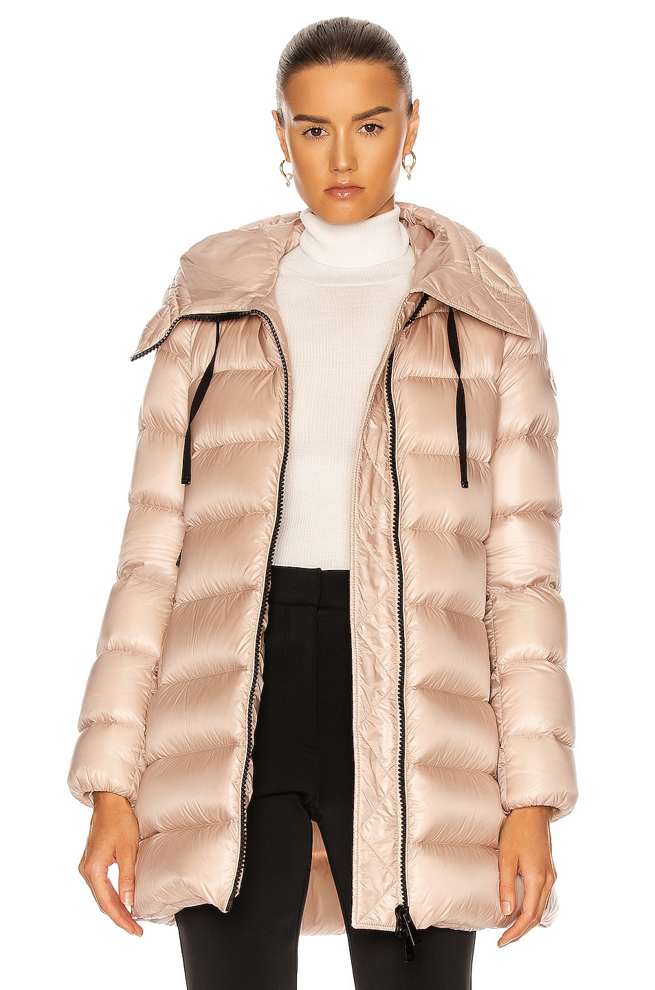 Image 1 of Moncler Suyen Jacket in Blush