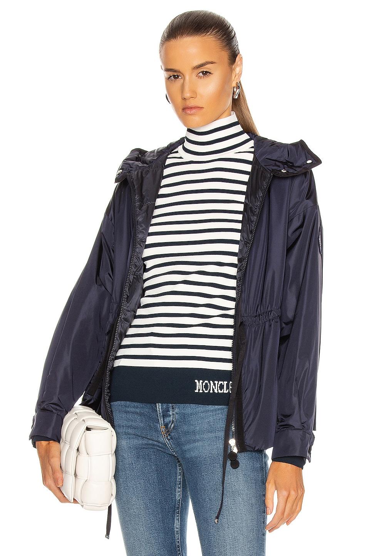 Image 1 of Moncler Meretz Giubbotto Jacket in Navy