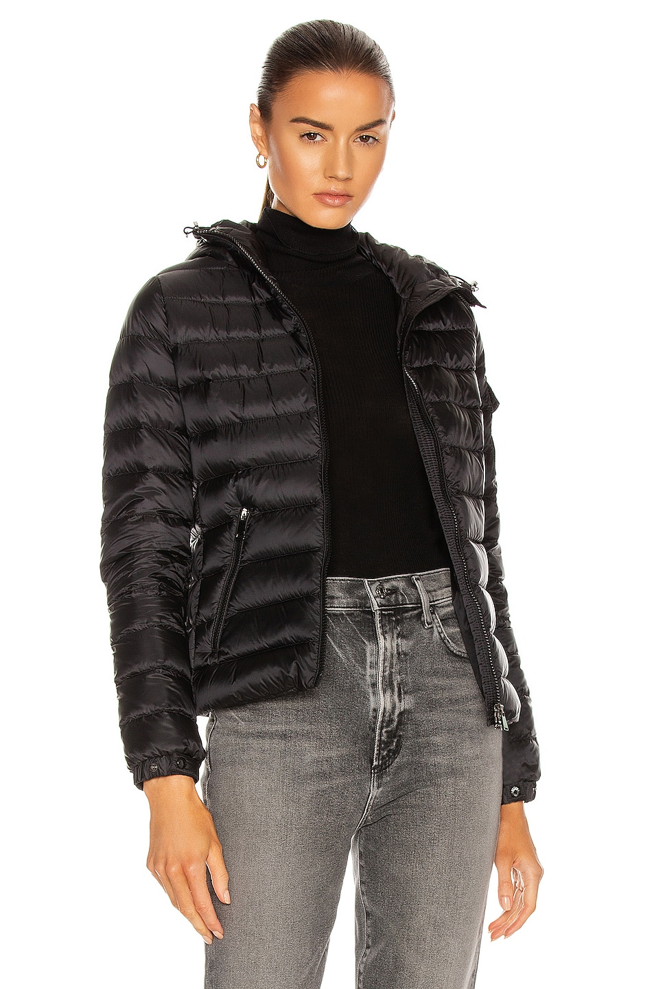 Image 1 of Moncler Bles Giubbotto Jacket in Black