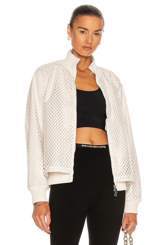 Image 1 of Moncler Pulcherrima Giubbotto Jacket in White