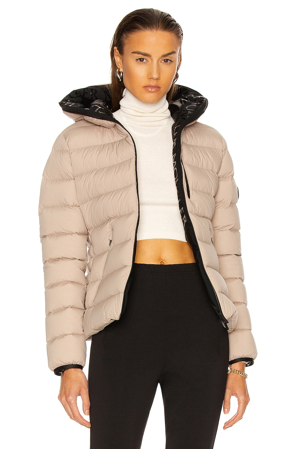 Image 1 of Moncler Herbe Jacket in Champagne