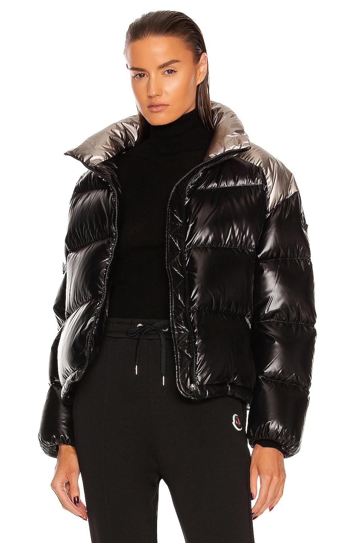 Image 1 of Moncler Cuscute Jacket in Black