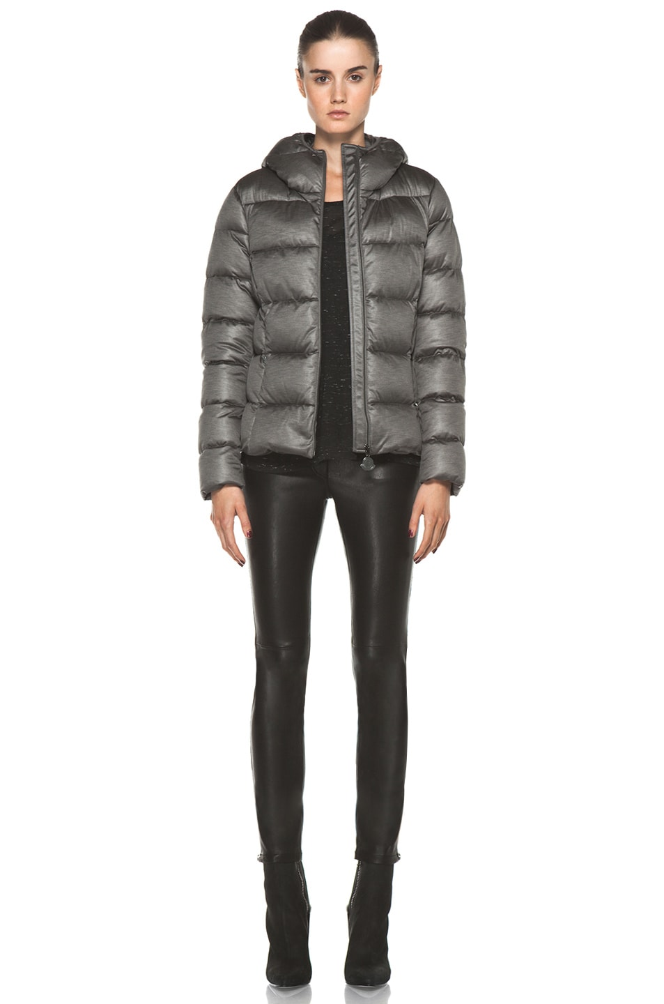 edf14b0ef Moncler Jersey Poly Jacket in Charcoal | FWRD
