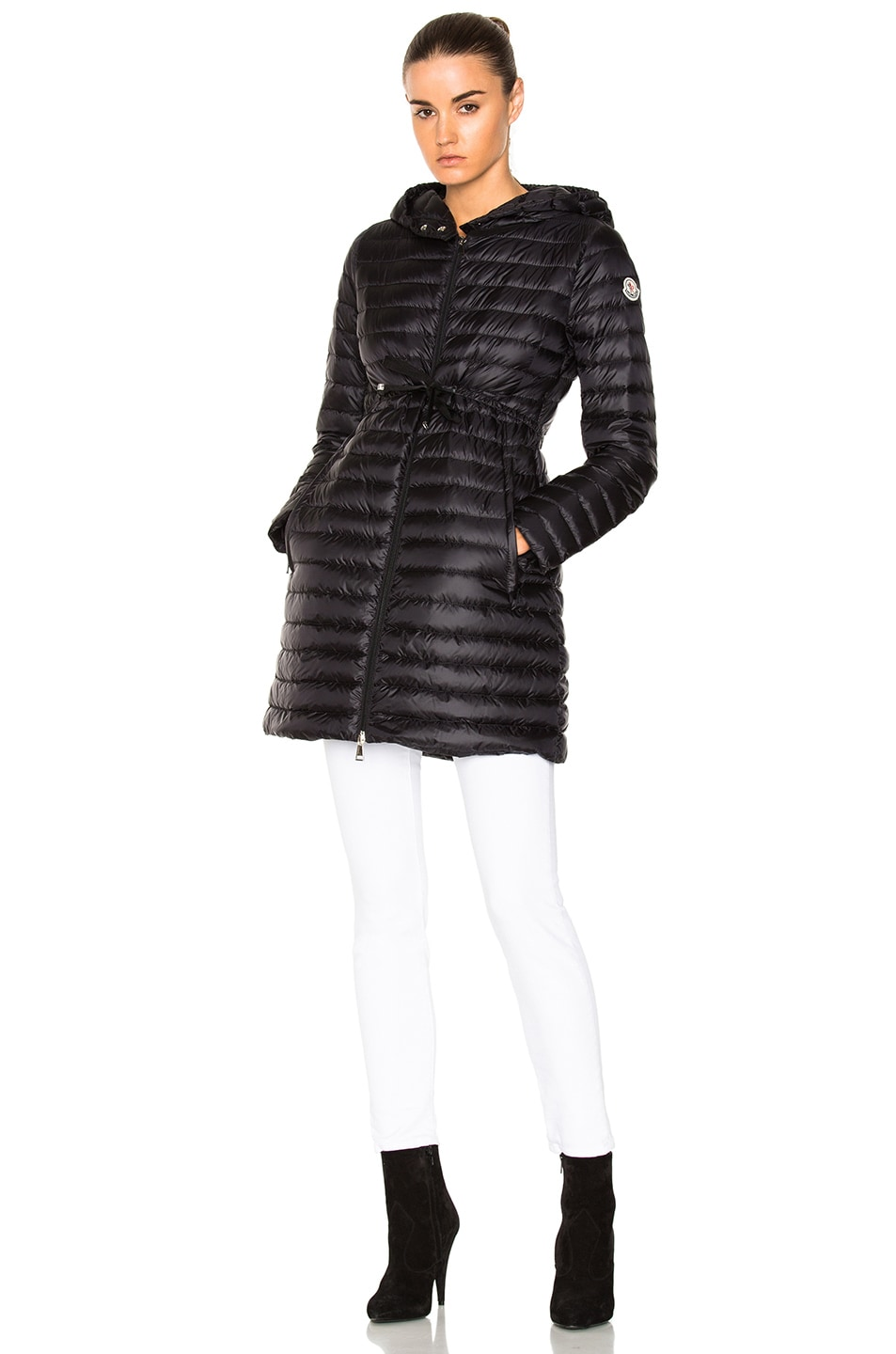 Image 2 of Moncler Barbel Polyamide Jacket in Black
