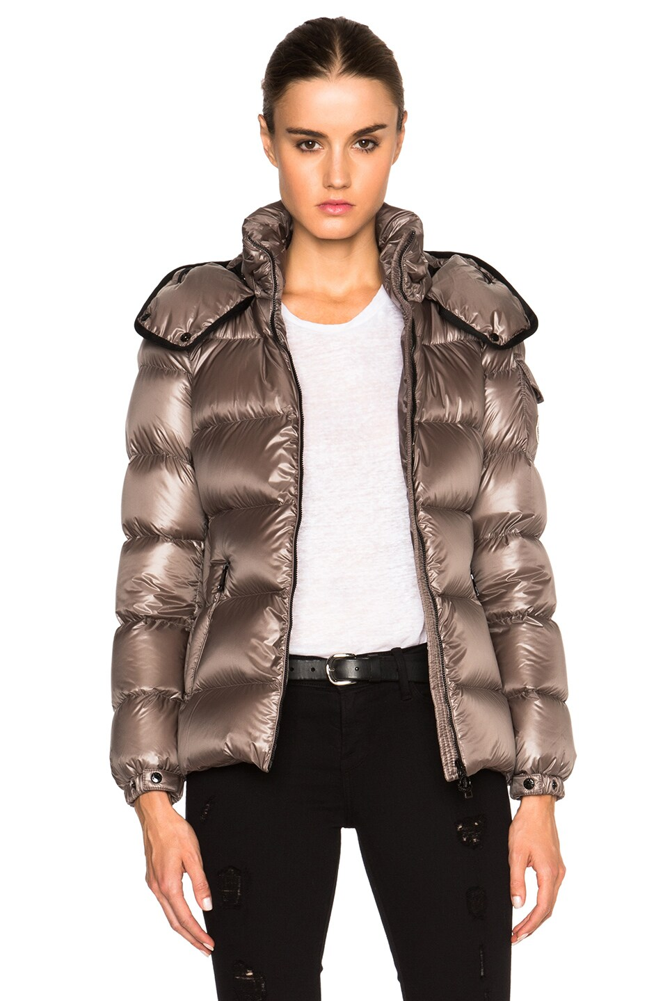 0075e4ed3 Moncler Berre Jacket in Light Grey | FWRD
