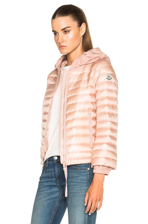 Image 3 of Moncler Emissole Jacket in Blush