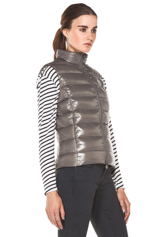 moncler ghany vest grey