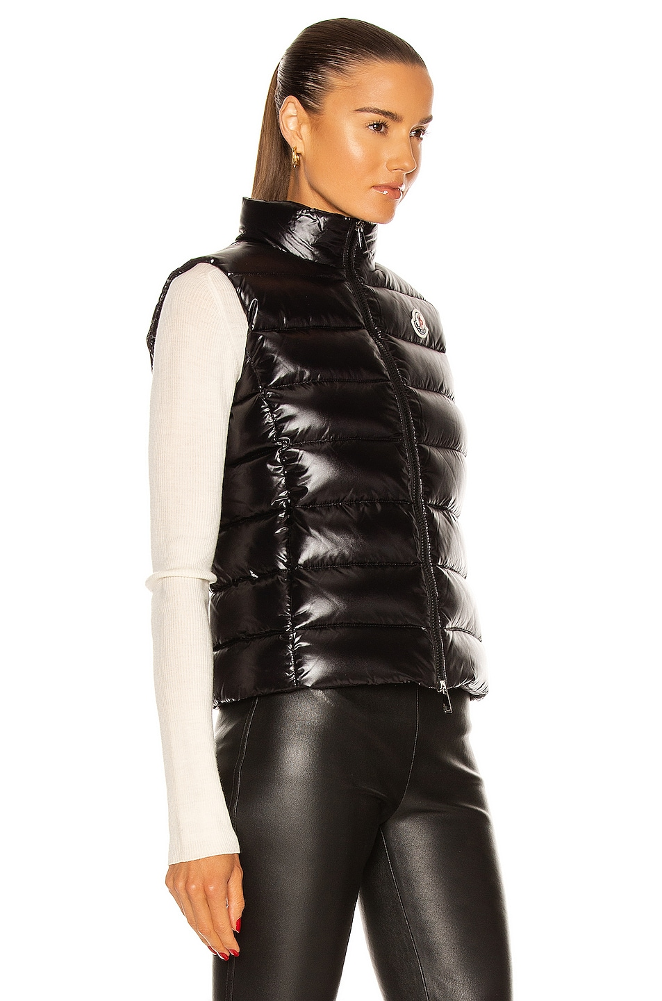 ... image 3 of moncler ghany gilet vest in black