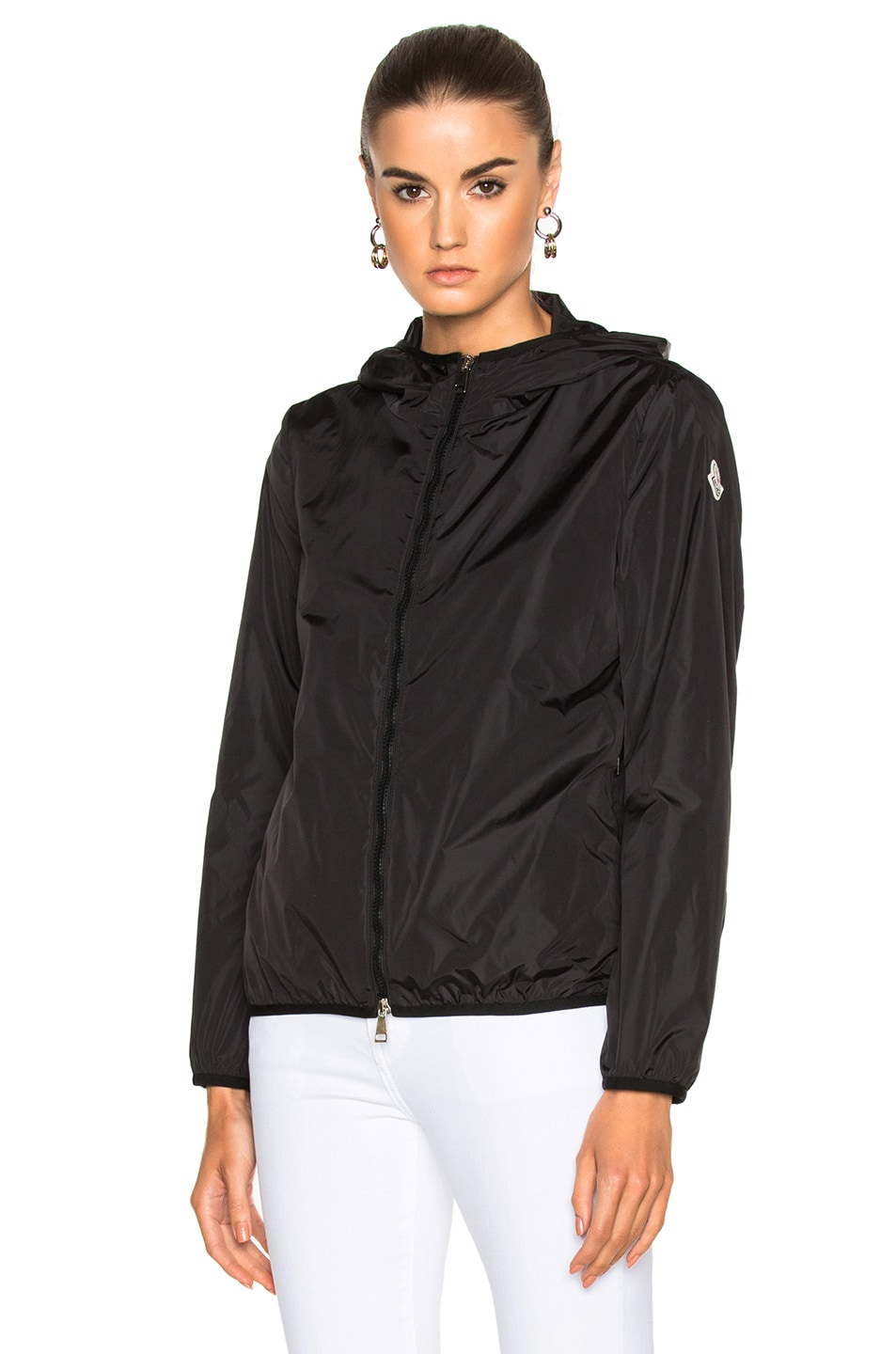 Image 2 of Moncler Vive Packable Jacket in Black