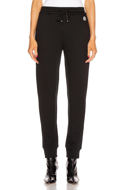 Image 2 of Moncler Pantalone Sweatpant in Black