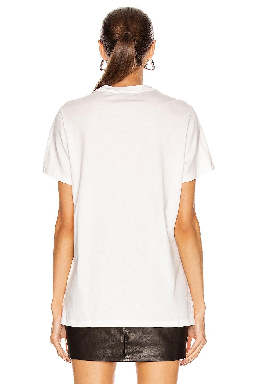 Image 3 of Moncler Girocollo T-Shirt in White