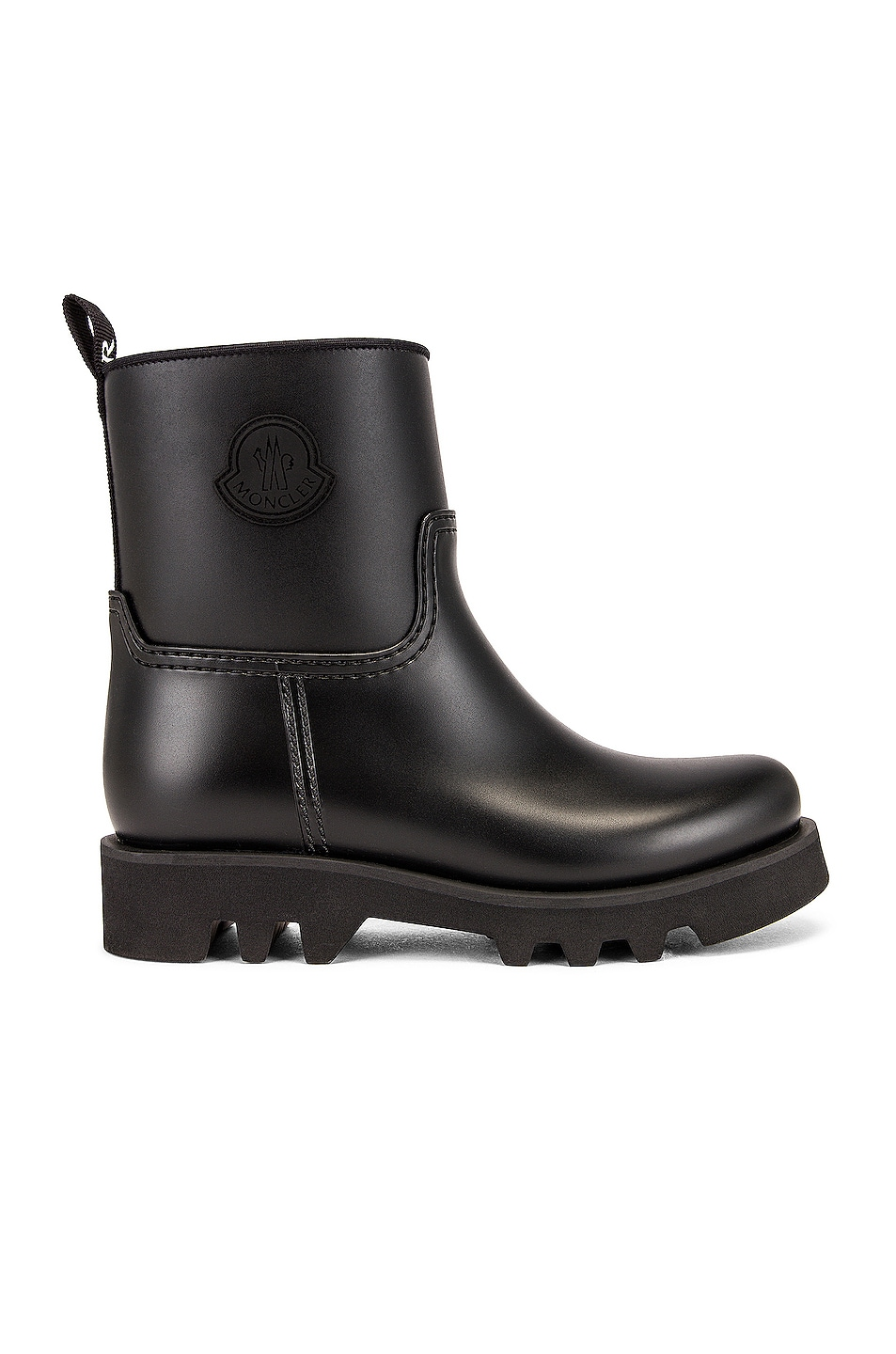 Image 1 of Moncler Ginette Rain Boot in Black