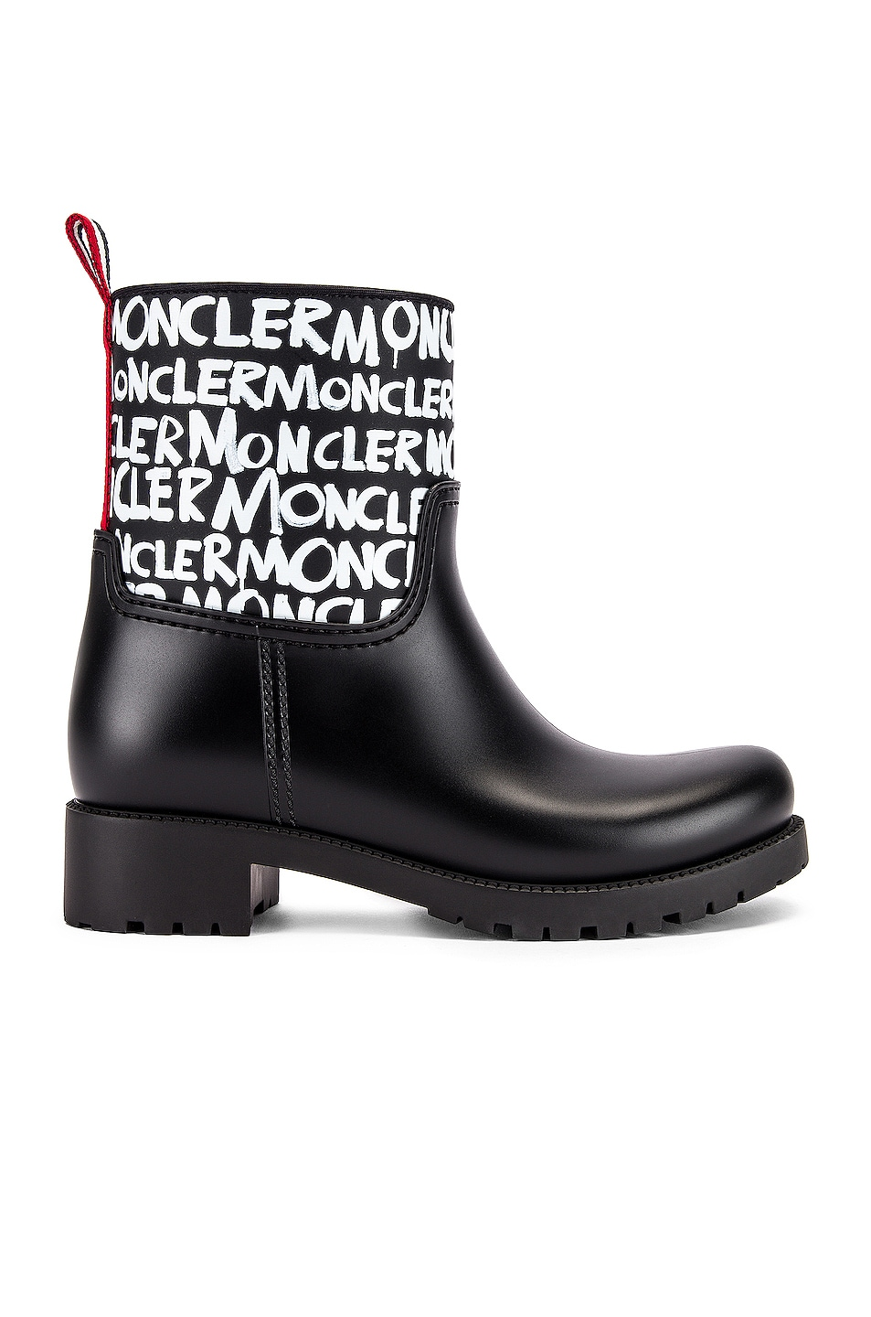 Image 1 of Moncler Ginette Logo Boot in Black