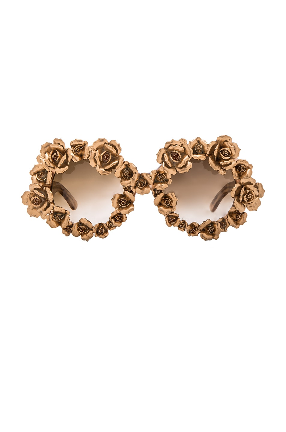 Image 1 of A-Morir Naomi Sunglasses in Gold