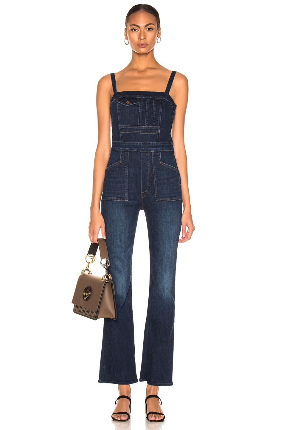 Image 1 of MOTHER Pocket Hustler Overall in Up Your Alley
