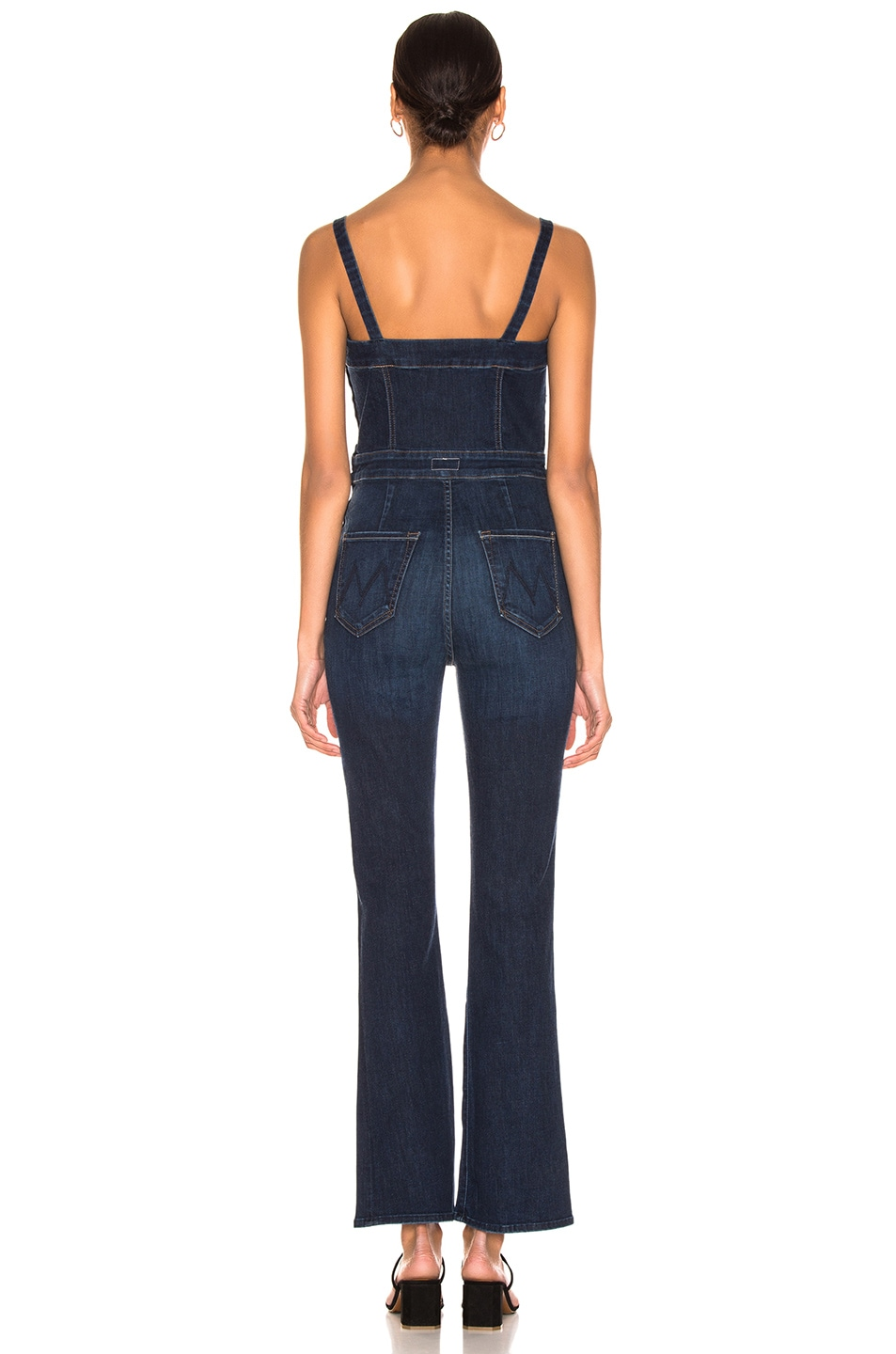 Image 3 of MOTHER Pocket Hustler Overall in Up Your Alley