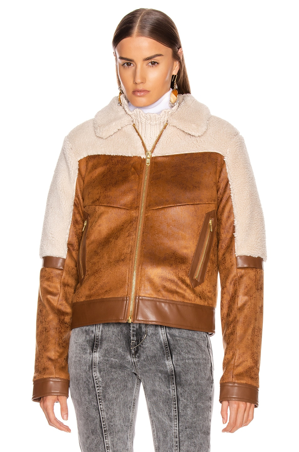 Image 2 of MOTHER Trapper Keeper Jacket in Fair Weather