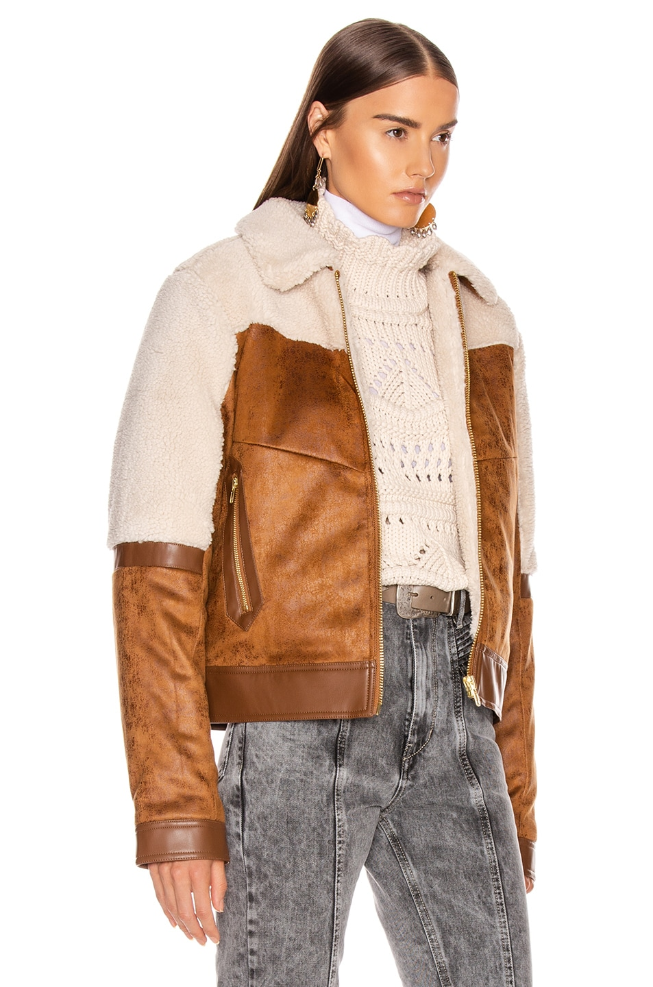 Image 3 of MOTHER Trapper Keeper Jacket in Fair Weather