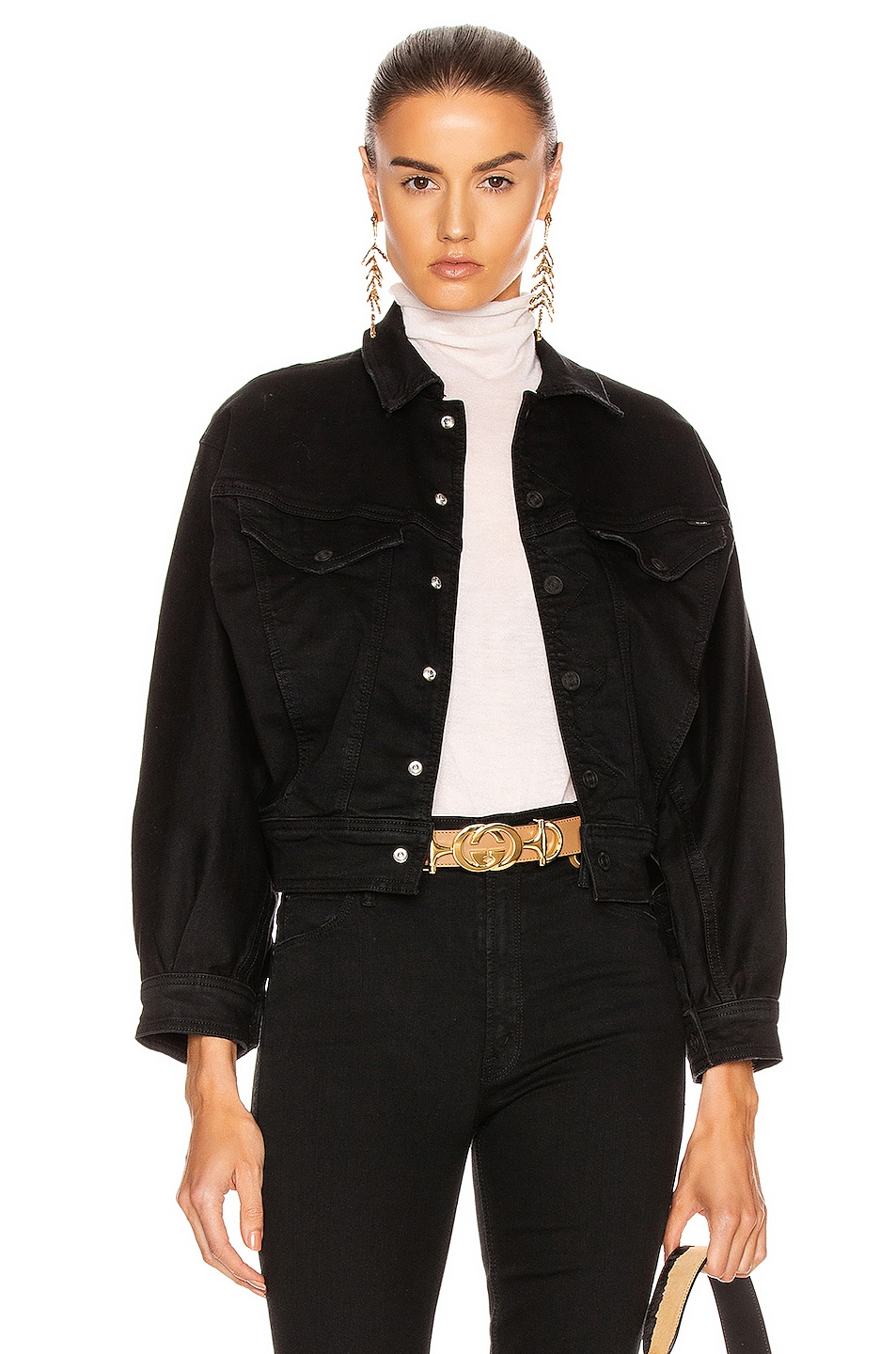 Image 1 of MOTHER Fly Away Jacket in Not Guilty