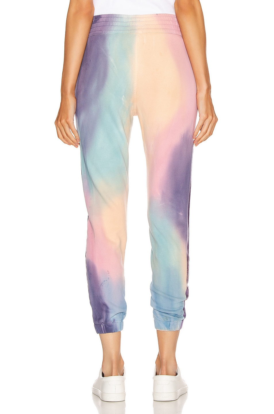 Image 4 of MOTHER The Springy Lounger Ankle Sweatpant in Let's Get Metaphysical
