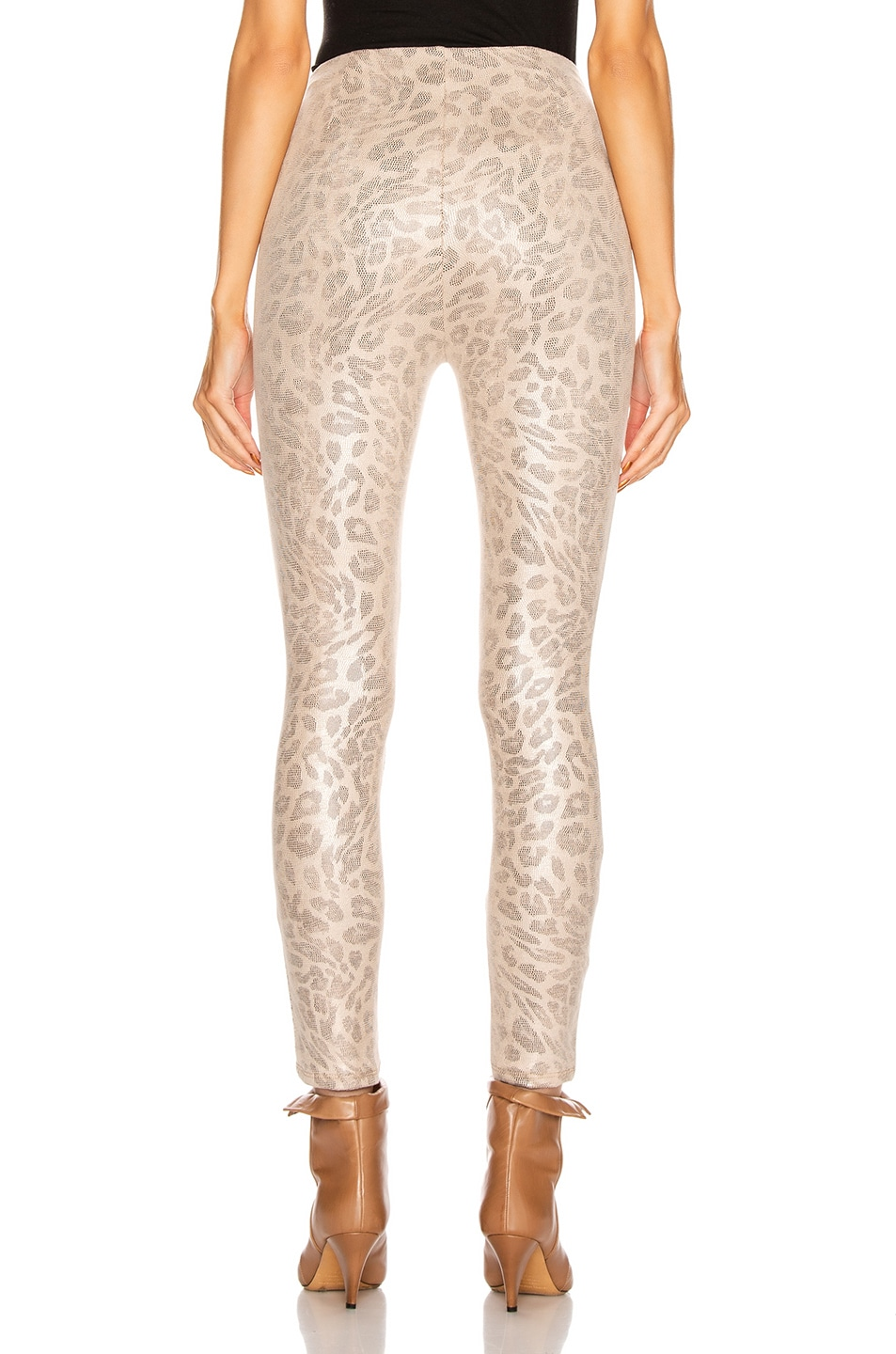 Image 3 of MOTHER High Waisted Seamless Looker Ankle Pant in Running With A Sweet Talker
