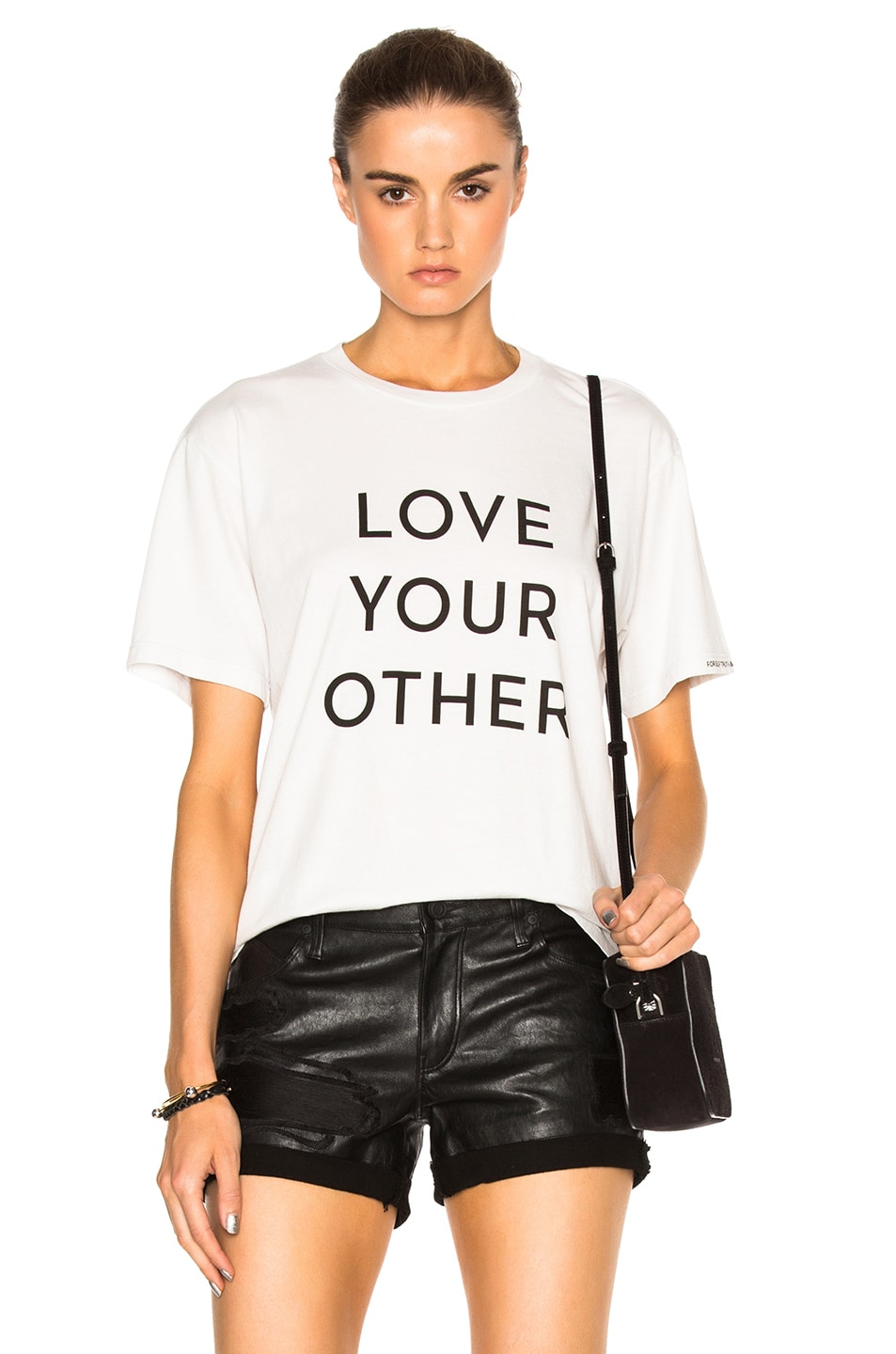 Image 1 of MOTHER x SELF EVIDENT TRUTHS Buster Tee in Dirty White
