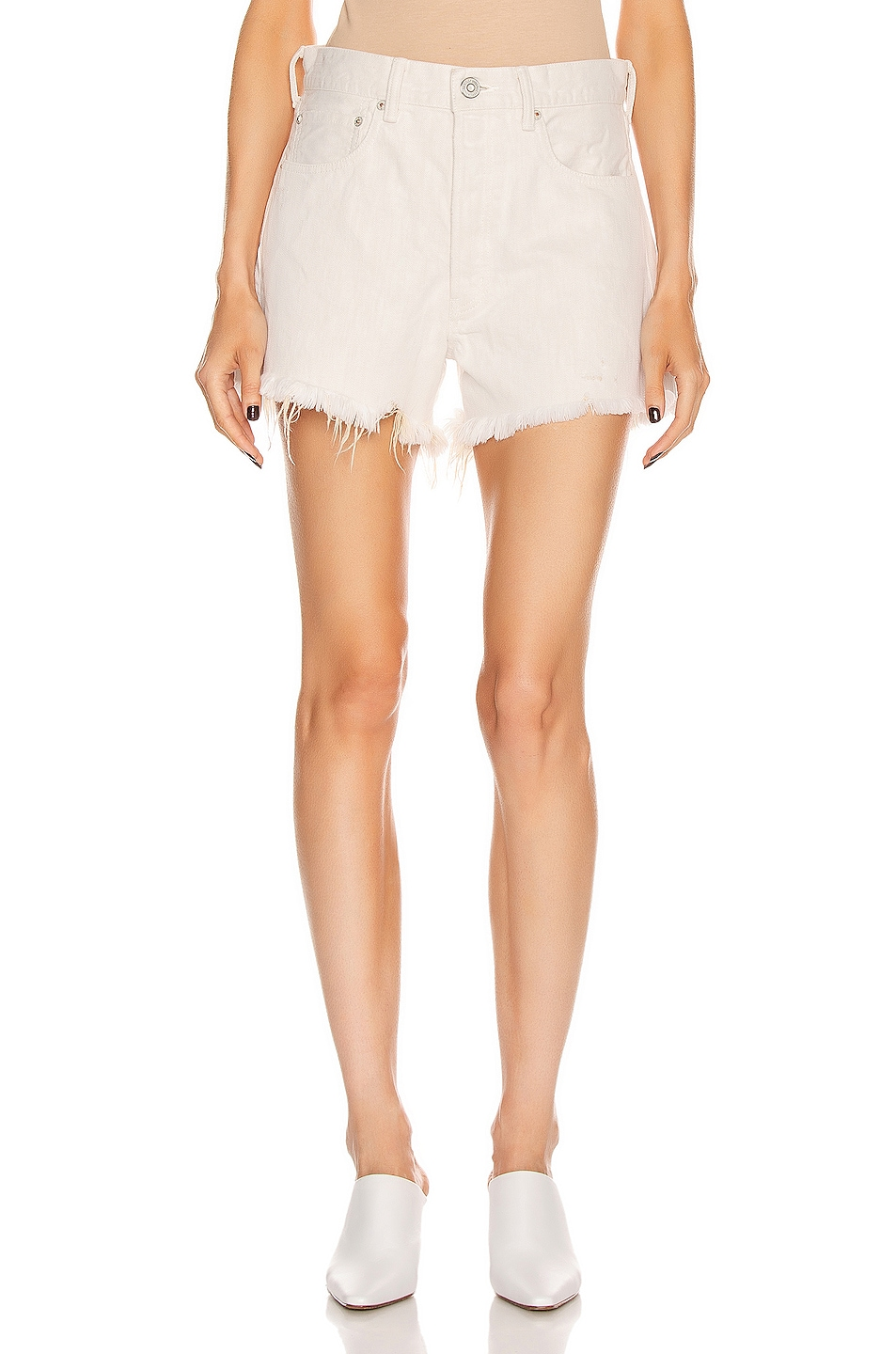 Image 1 of Moussy Vintage Kelton Short in White