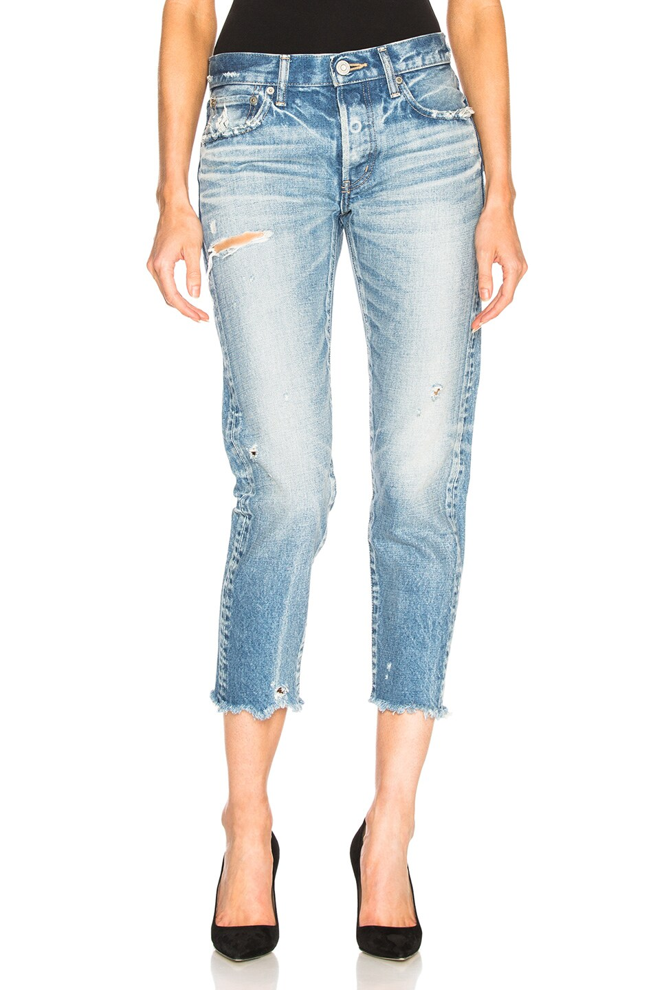 MOUSSY KELLEY TAPERED JEAN