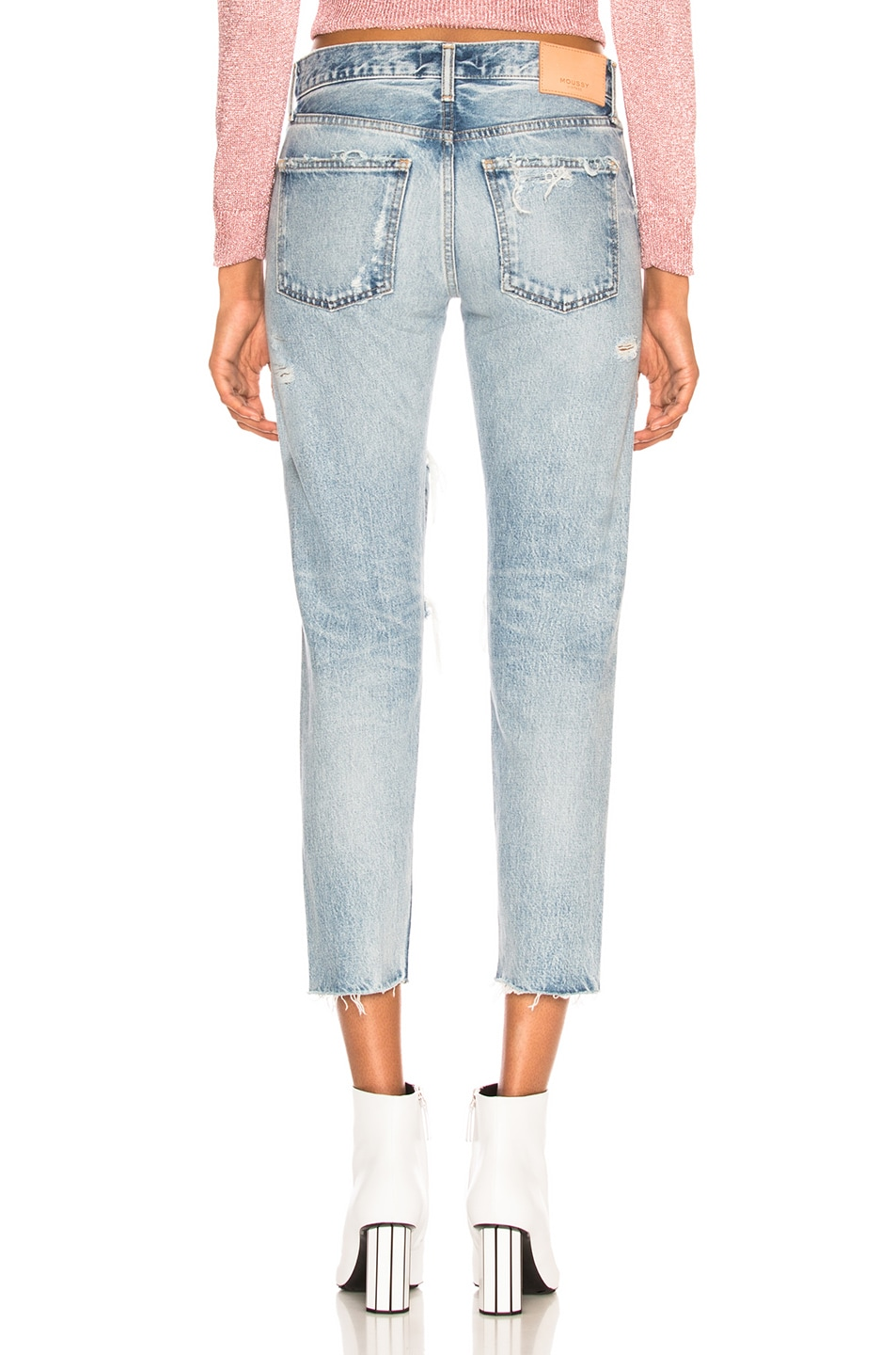 MOUSSY VINTAGE Cottons MOUSSY VINTAGE BRANFORD TAPERED JEAN IN BLUE.
